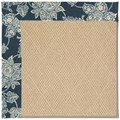 Capel Rugs Creative Concepts Cane Wicker - Bandana Indigo (465) Rectangle 5