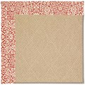 Capel Rugs Creative Concepts Cane Wicker - Imogen Cherry (520) Rectangle 5