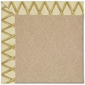 Capel Rugs Creative Concepts Cane Wicker - Bamboo Rattan (706) Rectangle 5