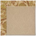 Capel Rugs Creative Concepts Cane Wicker - Cayo Vista Sand (710) Rectangle 5