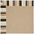 Capel Rugs Creative Concepts Cane Wicker - Granite Stripe (335) Rectangle 8