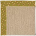 Capel Rugs Creative Concepts Cane Wicker - Bamboo Tea Leaf (236) Rectangle 8