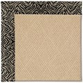 Capel Rugs Creative Concepts Cane Wicker - Wild Thing Onyx (396) Rectangle 8