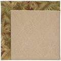 Capel Rugs Creative Concepts Cane Wicker - Bahamian Breeze Cinnamon (875) Rectangle 8