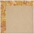 Capel Rugs Creative Concepts Cane Wicker - Tuscan Vine Adobe (830) Rectangle 12