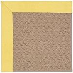Capel Rugs Creative Concepts Grassy Mountain - Canvas Buttercup (127) Octagon 4' x 4' Area Rug