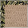 Capel Rugs Creative Concepts Grassy Mountain - Bahamian Breeze Coal (325) Octagon 4