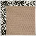 Capel Rugs Creative Concepts Grassy Mountain - Coral Cascade Ebony (385) Octagon 4