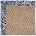 Capel Rugs Creative Concepts Grassy Mountain - Paddock Shawl Indigo (475) Octagon 4