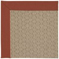 Capel Rugs Creative Concepts Grassy Mountain - Canvas Brick (850) Octagon 4