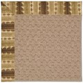 Capel Rugs Creative Concepts Grassy Mountain - Java Journey Chestnut (750) Octagon 6