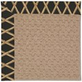Capel Rugs Creative Concepts Grassy Mountain - Bamboo Coal (356) Octagon 8