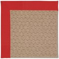 Capel Rugs Creative Concepts Grassy Mountain - Canvas Jockey Red (527) Octagon 8