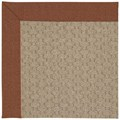 Capel Rugs Creative Concepts Grassy Mountain - Linen Chili (845) Octagon 8