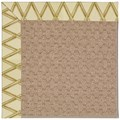 Capel Rugs Creative Concepts Grassy Mountain - Bamboo Rattan (706) Octagon 10