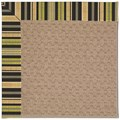 Capel Rugs Creative Concepts Grassy Mountain - Vera Cruz Coal (350) Octagon 12