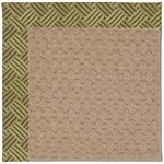 "Capel Rugs Creative Concepts Grassy Mountain - Dream Weaver Marsh (211) Runner 2' 6"" x 12' Area Rug"
