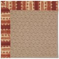 Capel Rugs Creative Concepts Grassy Mountain - Java Journey Henna (580) Runner 2
