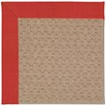 Capel Rugs Creative Concepts Grassy Mountain - Dupione Crimson (575) Rectangle 3