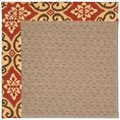 Capel Rugs Creative Concepts Grassy Mountain - Shoreham Brick (800) Rectangle 3