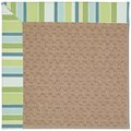 Capel Rugs Creative Concepts Grassy Mountain - Capri Stripe Breeze (430) Rectangle 4