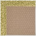 Capel Rugs Creative Concepts Grassy Mountain - Coral Cascade Avocado (225) Rectangle 6