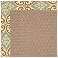 Capel Rugs Creative Concepts Grassy Mountain - Shoreham Spray (410) Rectangle 8