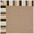Capel Rugs Creative Concepts Grassy Mountain - Granite Stripe (335) Rectangle 8