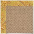 Capel Rugs Creative Concepts Raffia - Cayo Vista Tea Leaf (210) Octagon 4