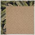 Capel Rugs Creative Concepts Raffia - Bahamian Breeze Coal (325) Octagon 4