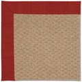 Capel Rugs Creative Concepts Raffia - Canvas Cherry (537) Octagon 4