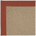 Capel Rugs Creative Concepts Raffia - Canvas Brick (850) Octagon 4