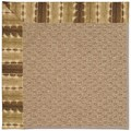 Capel Rugs Creative Concepts Raffia - Java Journey Chestnut (750) Octagon 6