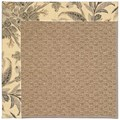Capel Rugs Creative Concepts Raffia - Cayo Vista Graphic (315) Octagon 8