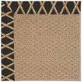 Capel Rugs Creative Concepts Raffia - Bamboo Coal (356) Octagon 8