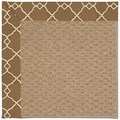 Capel Rugs Creative Concepts Raffia - Arden Chocolate (746) Octagon 10