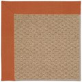 Capel Rugs Creative Concepts Raffia - Canvas Rust (837) Octagon 10