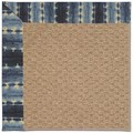 Capel Rugs Creative Concepts Raffia - Java Journey Indigo (460) Octagon 12