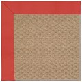 Capel Rugs Creative Concepts Raffia - Canvas Paprika (517) Octagon 12