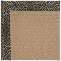 Capel Rugs Creative Concepts Raffia - Wild Thing Onyx (396) Rectangle 3