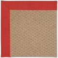 Capel Rugs Creative Concepts Raffia - Dupione Crimson (575) Rectangle 3