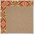 Capel Rugs Creative Concepts Raffia - Shoreham Brick (800) Rectangle 3