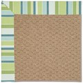 Capel Rugs Creative Concepts Raffia - Capri Stripe Breeze (430) Rectangle 4
