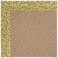 Capel Rugs Creative Concepts Raffia - Coral Cascade Avocado (225) Rectangle 6