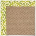 Capel Rugs Creative Concepts Raffia - Shoreham Kiwi (220) Rectangle 7