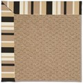 Capel Rugs Creative Concepts Raffia - Granite Stripe (335) Rectangle 8