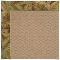 Capel Rugs Creative Concepts Raffia - Bahamian Breeze Cinnamon (875) Rectangle 8