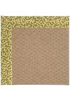 Capel Rugs Creative Concepts Raffia - Coral Cascade Avocado (225) Rectangle 8' x 10' Area Rug
