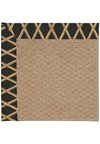 Capel Rugs Creative Concepts Raffia - Bamboo Coal (356) Rectangle 8' x 10' Area Rug