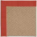 Capel Rugs Creative Concepts Raffia - Vierra Cherry (560) Rectangle 8